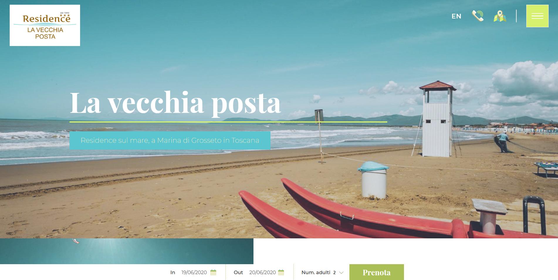 Screenshot 2020 06 19 La vecchia posta Residence sul mare a Marina di Grosseto in Toscana
