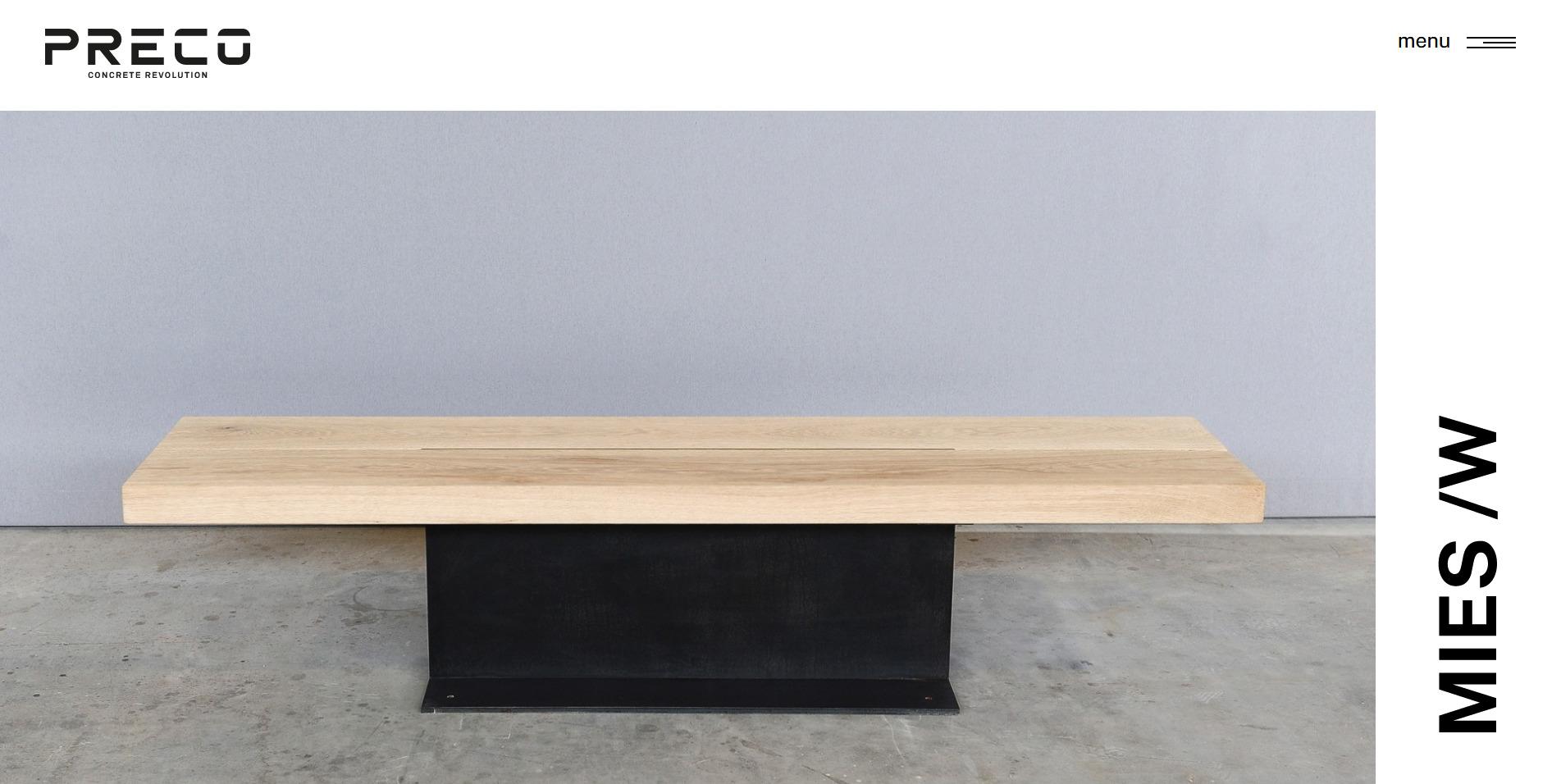 Screenshot 2020 06 19 MIES W Panchina in acciaio naturale e legno